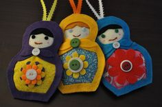 I have a thing for Russian Dolls....these are so cute!