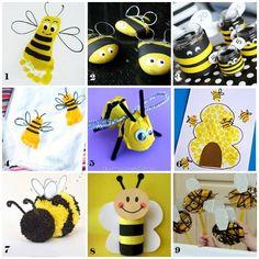 10 lavoretti per bambini: le api