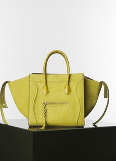 green suede celine bag - MEDIUM LUGGAGE PHANTOM HANDBAG IN GINGHAM WOVEN 30 X 28 X 24 CM ...