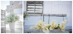 rustic beach wedding decor white wedding decor at destination wedding in the Cayman Islands