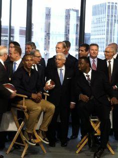 New York Giants Victor Cruz and Justin Tuck