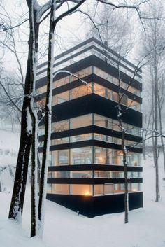 Open, transparent, dream home.