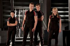 clove, cato, glimmer and marvel
