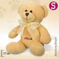 Kleiner Teddybär Tapsy, beige