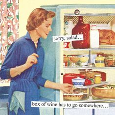15+ Hilariously Sarcastic Retro Pics That Only Women Will Truly Understand