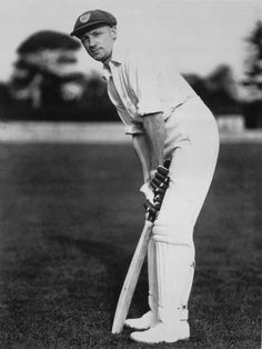 "Don Bradman (also known as ""the Don"") was a very famous cricket player and is seen as the greatest batsman of all times. Test Cricket, Cricket Bat, Cricket Sport, Cricket Equipment, Tours Of England, Australian Photography, Cricket Wallpapers, World Cricket, Sports Personality"