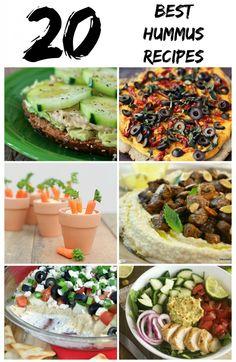 Best Hummus Recipes from @Marne Clark Erickson Rodriguez-Murray