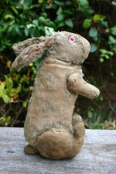 Old Vintage Antique Steiff Jointed Dutch Rabbit Hase Teddy Bear C 1910 | eBay