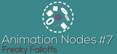Using Falloffs in Animation Nodes