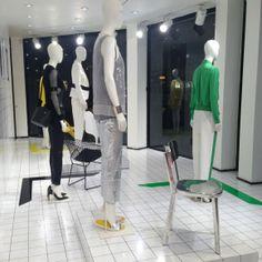 Joseph Fashion, London // Geometrics in collaboration with Harlequin Design // March 2014