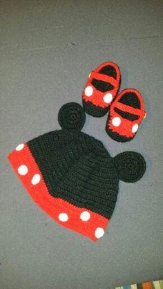 Minie crochet gorro