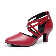 BCLN Women's Ballroom Dance Pumps Party Shoes with 2.4' Heel *** You can find more details by visiting the image link.