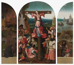 Hieronymus Bosch: Triptychon der gekreuzigten Märtyrerin
