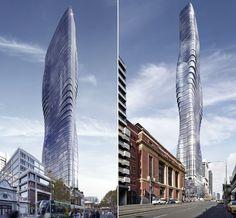 Um prédio inspirado em Beyoncé chega à Australia