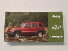 2007 Jeep Liberty Owners Manual Book