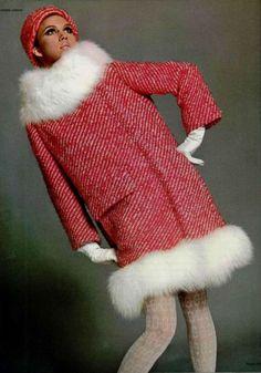 1960's fashion great coat > Pierre Cardin