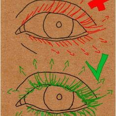 eyelashes, tutorial, and how to draw image