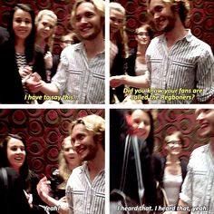 Toby Regbo knows that his fans are called the Regboners. [x]