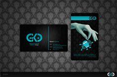business card presentation