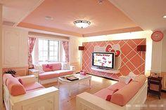 Confira um guia de como usar rosa na decoração de casa.