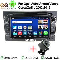 2G RAM Android 6.0.1 Car Radio GPS For OPEL Zafira(2005-2011)Corsa(2006-2011)Astra(2007-2009)Antara(2006-2011)Vectra(2005-2008) #Affiliate