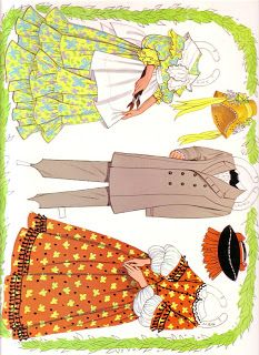 Kathleen Taylor's Dakota Dreams: paper doll Little Women Paper Dolls