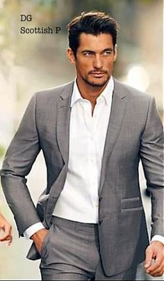 Men's casual suit | David Gandy | Marks and Spencer 2014...