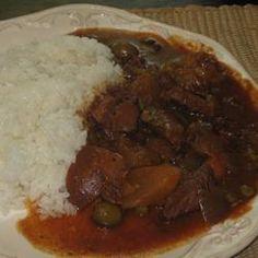 Cuban Beef Stew Allrecipes.com