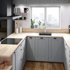 Kleine Küche: Ideen für die Gestaltung   Kleine küche ...
