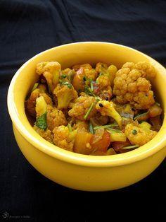 Recepty z Indie: Karfiolové subzi