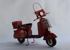 Nostaljik Metal Motorsiklet - KLC import