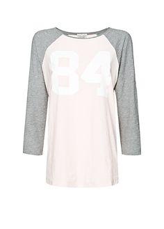 MANGO - Bicolour cotton t-shirt