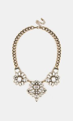 Savino Necklace...love how it has a hard and edgy but is still so pretty!