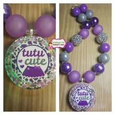 Check out this item in my Etsy shop https://www.etsy.com/listing/264594230/tutu-cute-bubblegum-necklace