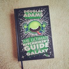 Pin for Later: 10 Cult Quotes That Need to Be Included in Your Wedding The Hitchhiker's Guide to the Galaxy Sample Wedding Vows, Modern Wedding Vows, The Hitchhiker, Hitchhikers Guide, Galaxy Book, Galaxy Art, Writing Your Own Vows, Galaxy Quotes, Creative Names