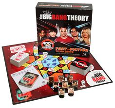 Big Bang Theory Trivia Game.  Didn't know it existed and now I soooo want it!