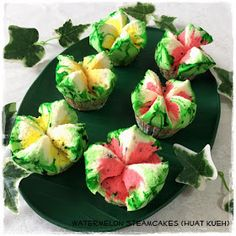 Tested & Tasted: Watermelon Steamcakes (Huat Kueh)