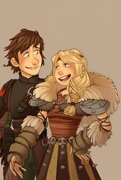 Hiccup and Astrid are like one of my top ten otps <3