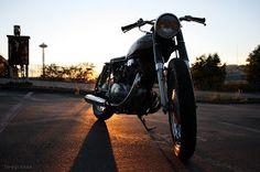The design llama: My New Toy:1973 Honda CB 350