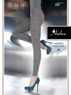 AMBRA Fashion leggings - beautiful and stylish leggings made in Europe. http://www.avec-moi.com.au/index.php/leggings-footless/ambra-60-den-detail