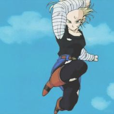 """When Vegeta finally was able to go Super Saiyan, but Android 18 still snapped his arm in half with one kick: 