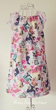 J'Adore Paris Swing Dress
