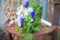 fern bouquet // flowers by A Garden Party, photo by Tami Melissa Photography