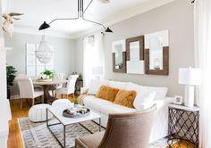 Bachelor Ben Higgins & Lauren Bushnell Home Tour - Living Room