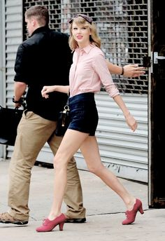 Her shoes!!