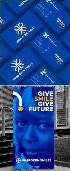 Rebranding for Unspoken Smiles Foundation - World Brand Design Society