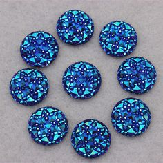 100PCS 16MM Newest AB Color Crystal Acrylic Round flatback Rhinestones Stone Beads Scrapbooking crafts Jewelry Accessories ZZ32-in Beads from Jewelry & Accessories on Aliexpress.com | Alibaba Group