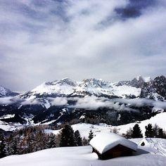 """@olele4ka's photo: """"#Italy #ski #skiing #dolomit i#dolomitisuperski #pozzadifassa"""" @Val di Fassa #fassaski14"""