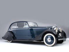 Bentley 3.5 Coupe Barker 1935