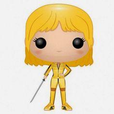Cabezón Beatrix Kiddo, la Novia de Kill Bill | Merchandising Películas